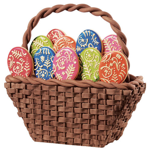 Eggs in One Basket Cake