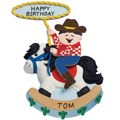 Toddler Tex Cake