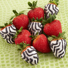 Wild Candy-Dipped Strawberries