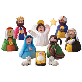 Miracle of the Manger Mini Cakes