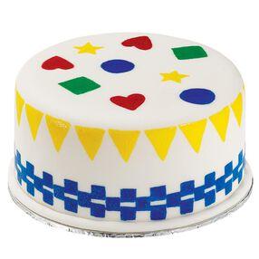 Not-so-plain Geometry cake