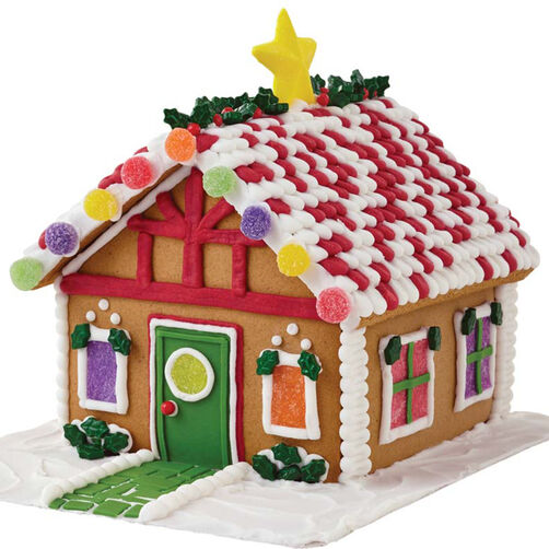 Star of the Holidays Gingerbread House #3