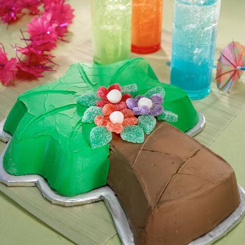 Palm Tree Blossom Cake