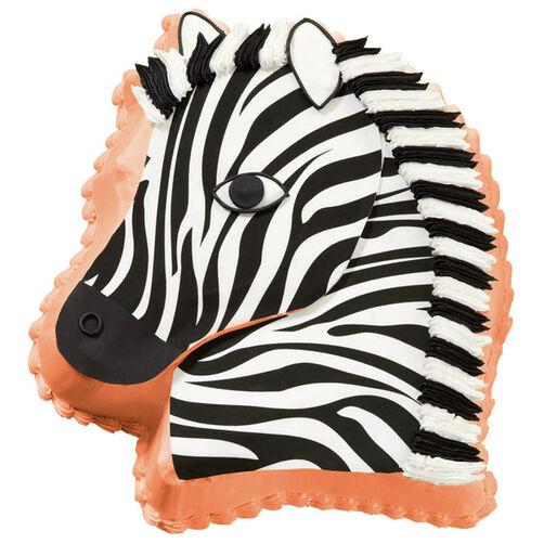 Speedy Zebra Cake