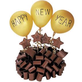 Sweet Indulgence New Year's Cake