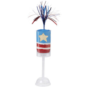 4th of July Firecracker Treat Pops