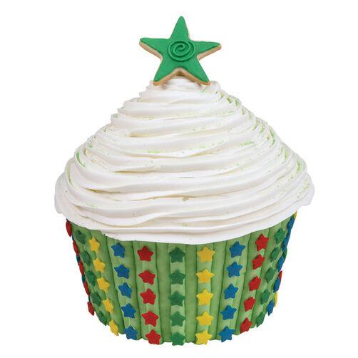 Star Giant Cupcake Cake