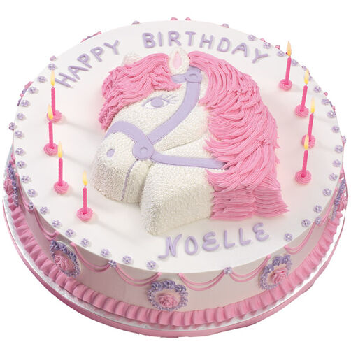 The Princess' Pony Cake
