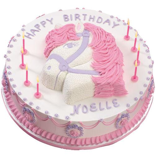 The Princess Pony Cake Wilton