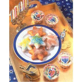 Hanukkah Mini Cheesecakes