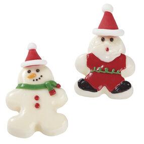 Santa's Bite-sized Cakes