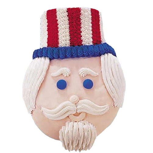 Happy Birthday Uncle Sam Cake
