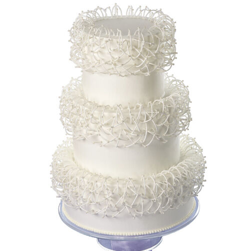 Interwoven Arches Cake