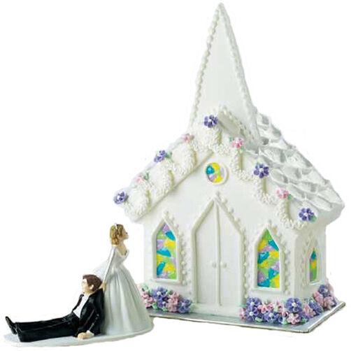 A Chapel Awaits Cake