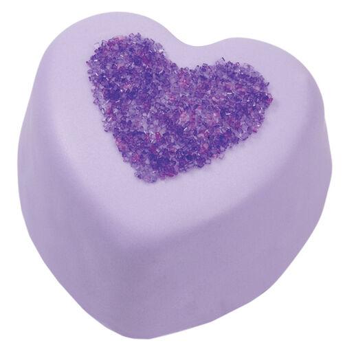 Violet Heart Mini Cakes