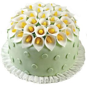 Creative Calla Lilies Cake