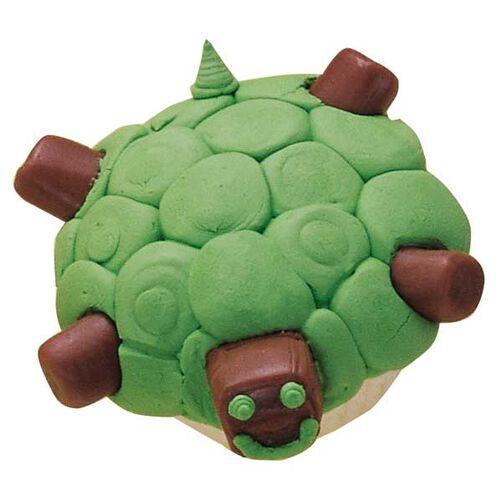 Turtle Dive! Cupcakes