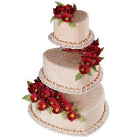 Stucco Trio Cake