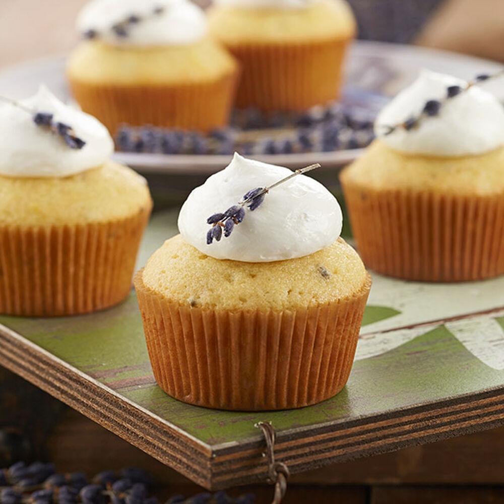 Lemon Cake Lavender Frosting