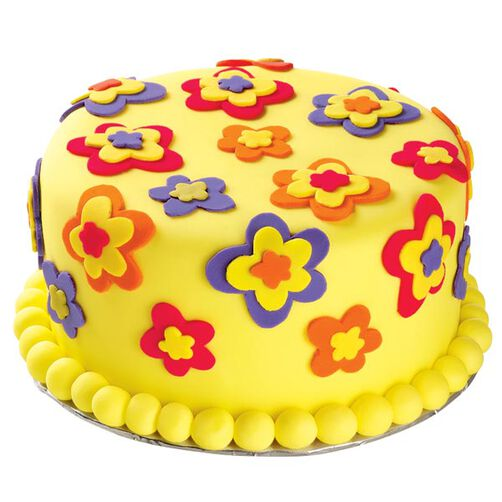 Funny Flower Power Cake