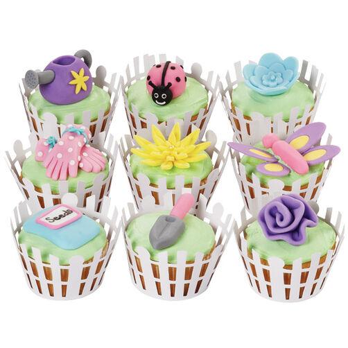 Mother's Day Garden Cupcakes