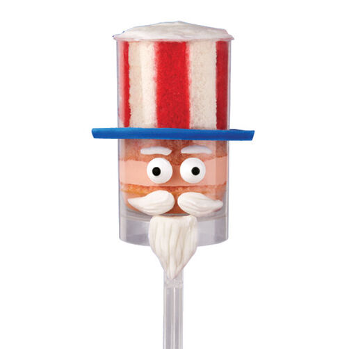 Uncle Sam's Hat Trick Treat Pops