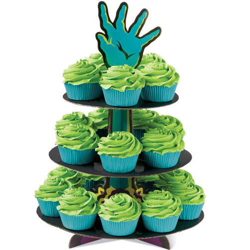 Haunted Hand Cupcakes