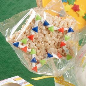 School Star Cereal Treat Pops