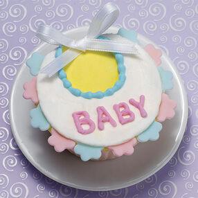 A Bib Over all Cupcake
