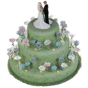 Thriving Romance Cake