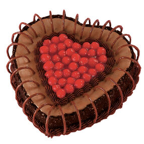 Chocolate Lover's Valentine Cheesecake