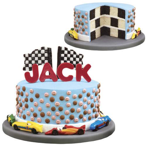 Raceway Rush Cake