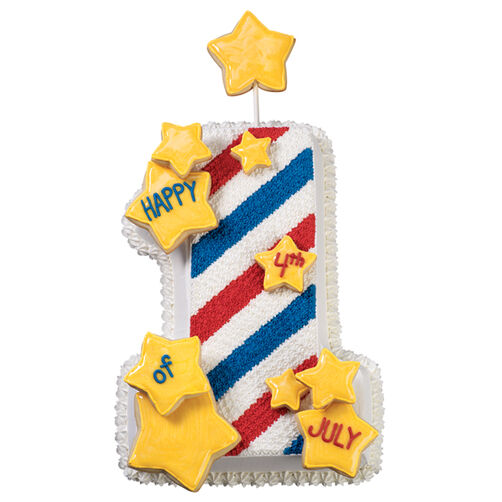 Broad Stripes, Bright Stars Cake
