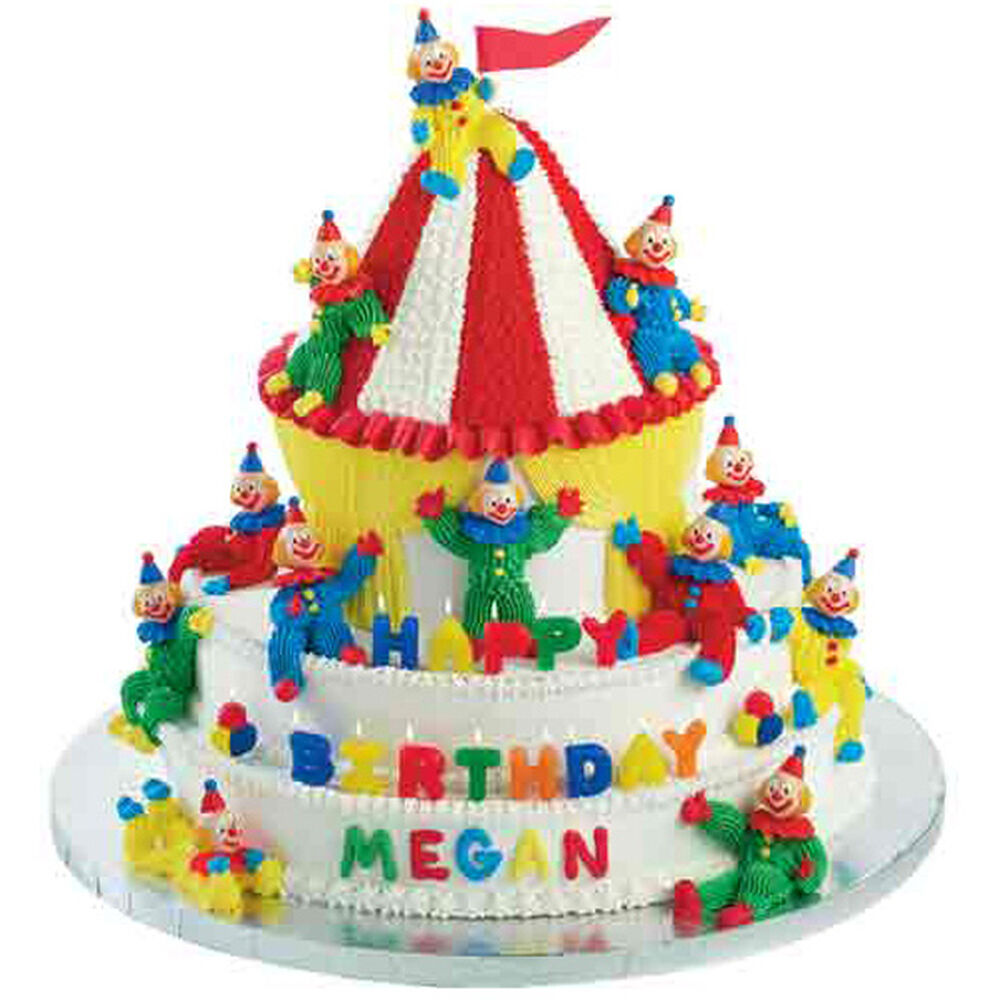 Come Join This Circus Cake Wilton