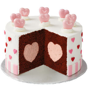 Hearts Galore Cake
