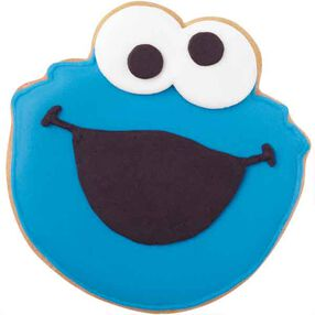 Me Want Cookie Monster Cookies