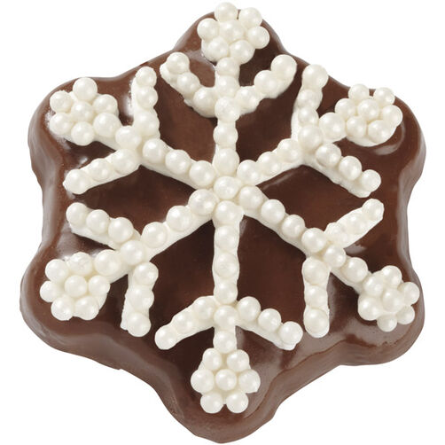 White Snowflake Cookie
