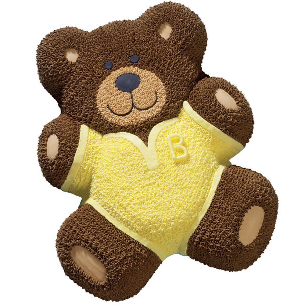 Toddler Teddy Cake Wilton