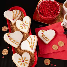Cupid's Arrow Cookies