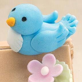 Fondant Blue Bird