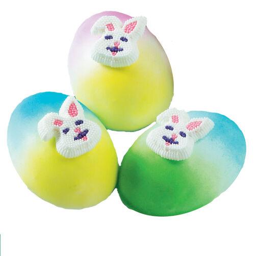 Rainbow Eggs Mini Cakes