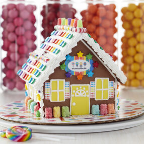 Dylan's Candy Bar Chocolate Cookie Gingerbread House