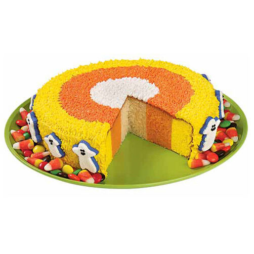 How Candy Corn is Born Cake