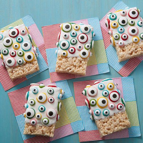 Eye Spy Rice Cereal Treats