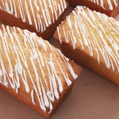 Mini Glazed Lemon Loaf