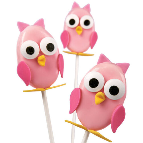 Owl Ooohs and Ahhhs Cake Pops