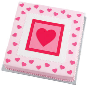 Dancing Hearts Cake