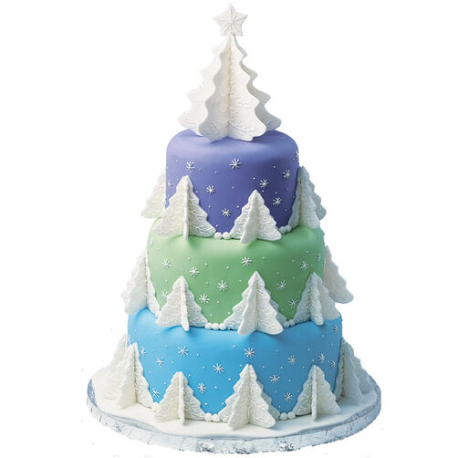 Evergreen Everest Cake