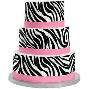 Zesty Zebra Cake