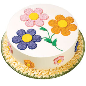 Pastel Posies Cake